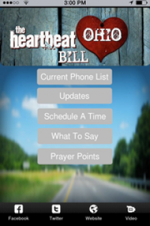 Heartbeat Bill Ohio - How to make an app